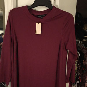 BNWT Mock Turtle Neck Swing Tunic/Dress